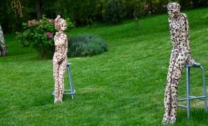 clone 1 et clone 2, sculptures de Coskun